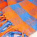 plain woven scarf