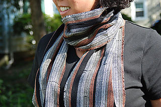 Woven scarf1