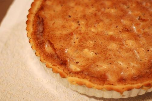Chocmac tart