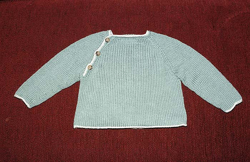 little sir's raglan sweater