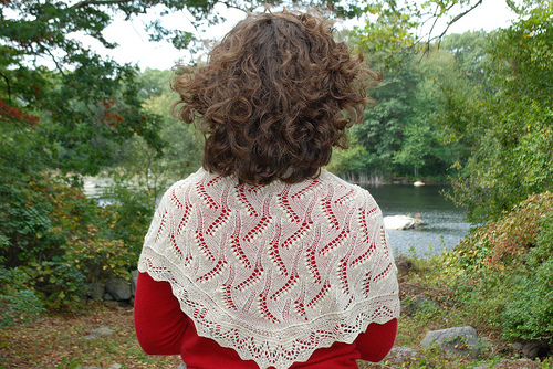 estonian triangular shawl