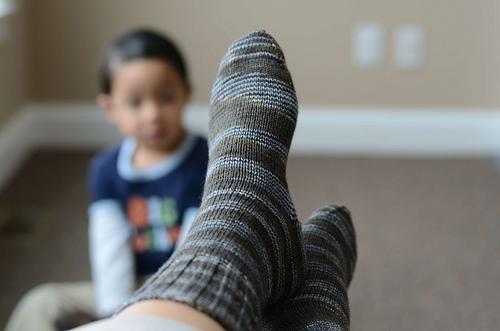 gentleman's plain winter sock