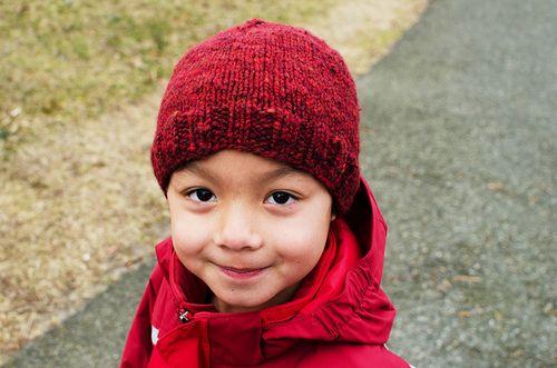 valentine's hat :: little sir's version